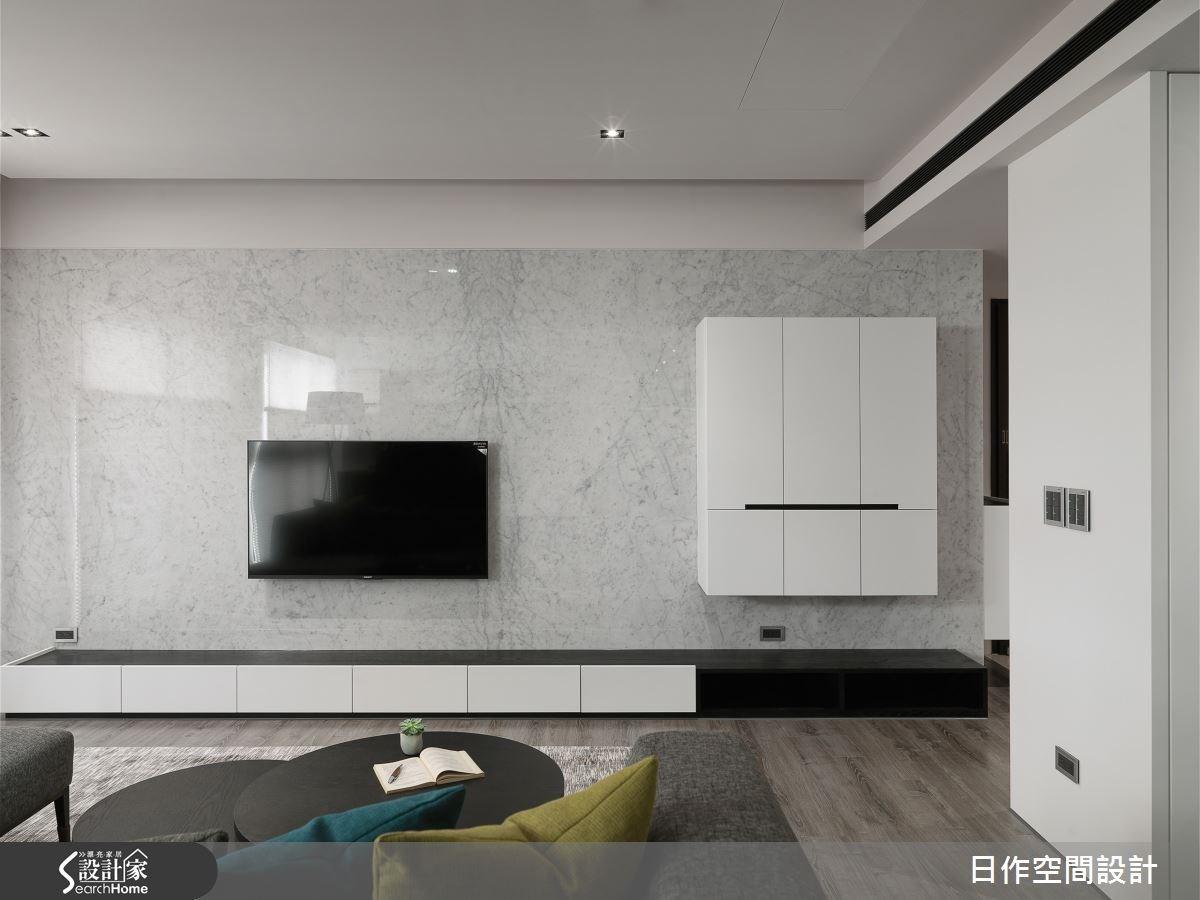 30坪新成屋(5年以下)_現代風客廳案例圖片_日作空間設計有限公司_日作_10之4