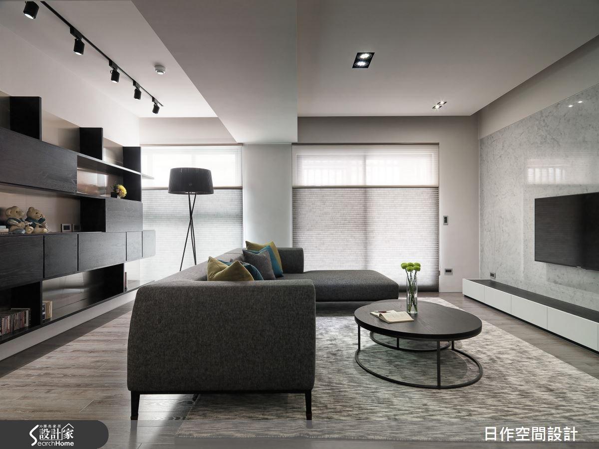 30坪新成屋(5年以下)_現代風客廳案例圖片_日作空間設計有限公司_日作_10之8