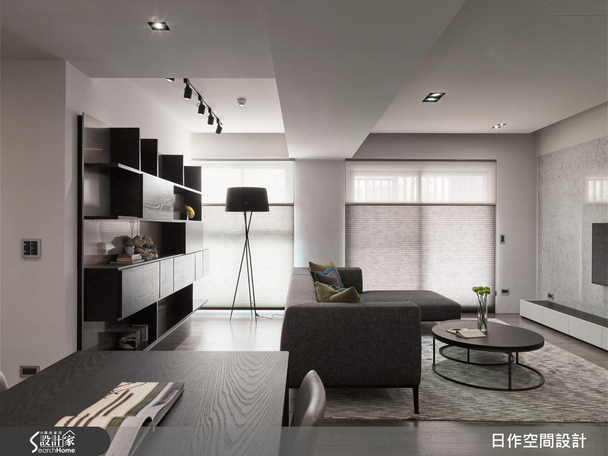 30坪新成屋(5年以下)_現代風客廳案例圖片_日作空間設計有限公司_日作_10之9