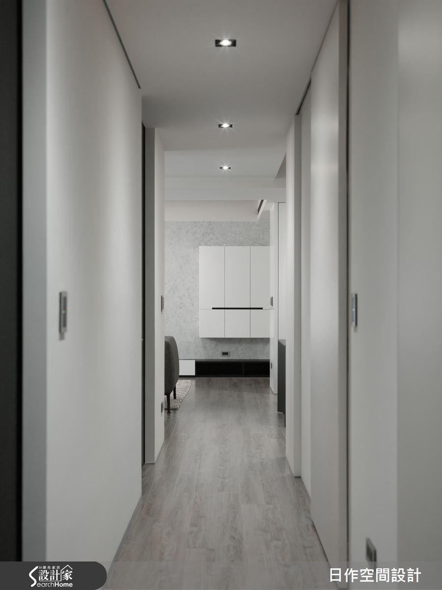 30坪新成屋(5年以下)_現代風走廊案例圖片_日作空間設計有限公司_日作_10之14