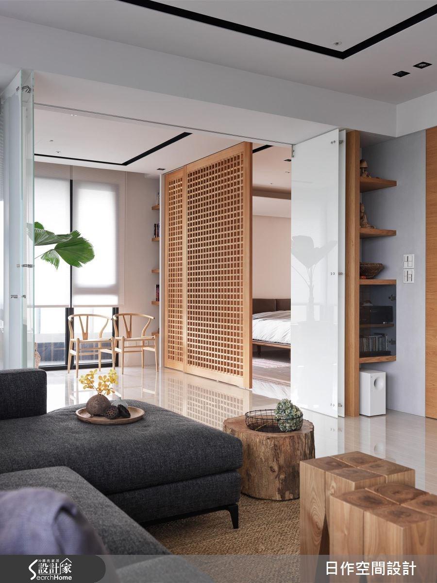 42坪新成屋(5年以下)_休閒風客廳案例圖片_日作空間設計有限公司_日作_11之8