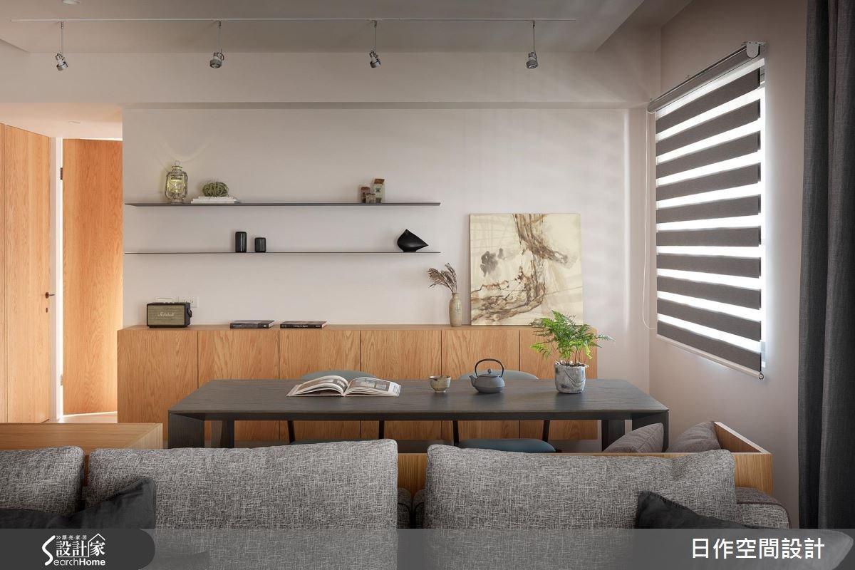 40坪老屋(16~30年)_簡約風書房案例圖片_日作空間設計有限公司_日作_14之9
