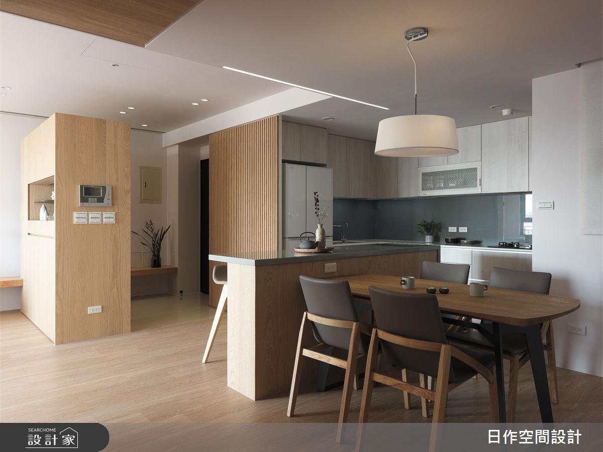 30坪新成屋(5年以下)_簡約風餐廳案例圖片_日作空間設計有限公司_日作_16之3