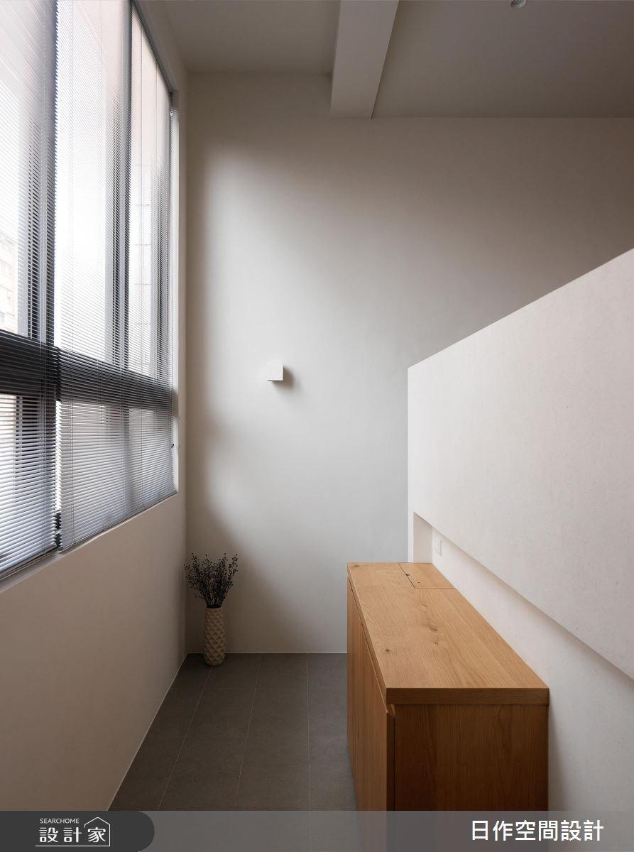 40坪老屋(16~30年)_簡約風玄關案例圖片_日作空間設計有限公司_日作_17之3