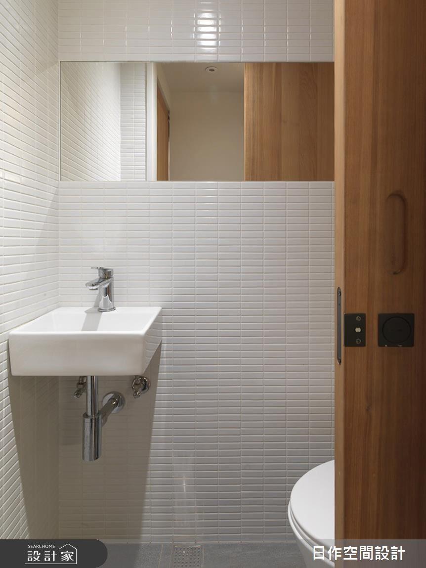 23坪老屋(16~30年)_混搭風浴室案例圖片_日作空間設計有限公司_日作_20之25