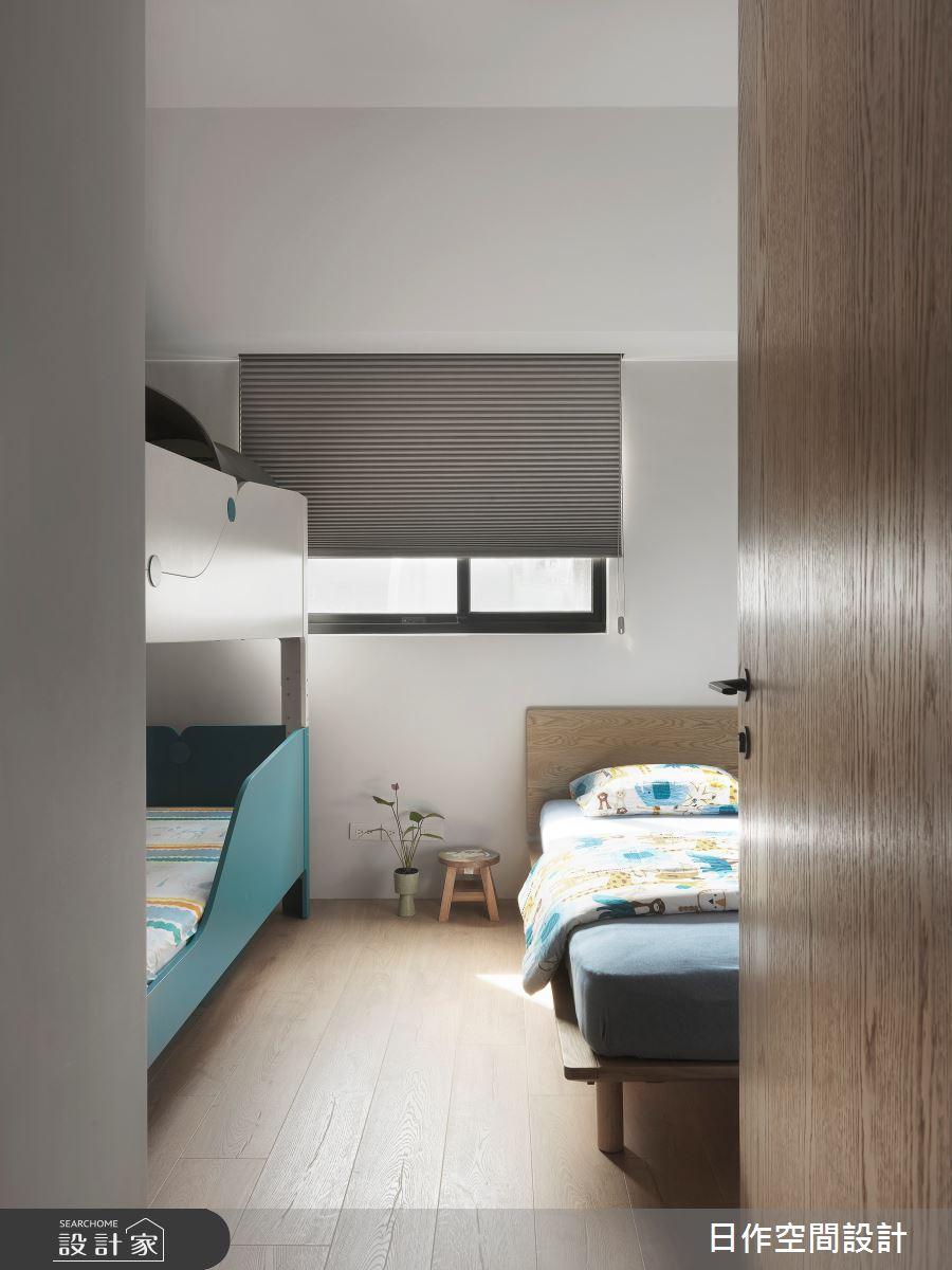 35坪新成屋(5年以下)_日式無印風臥室案例圖片_日作空間設計有限公司_日作_39之26