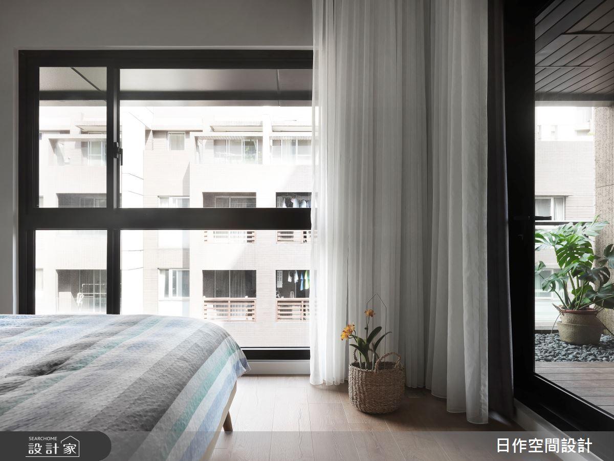 35坪新成屋(5年以下)_日式無印風臥室案例圖片_日作空間設計有限公司_日作_39之22