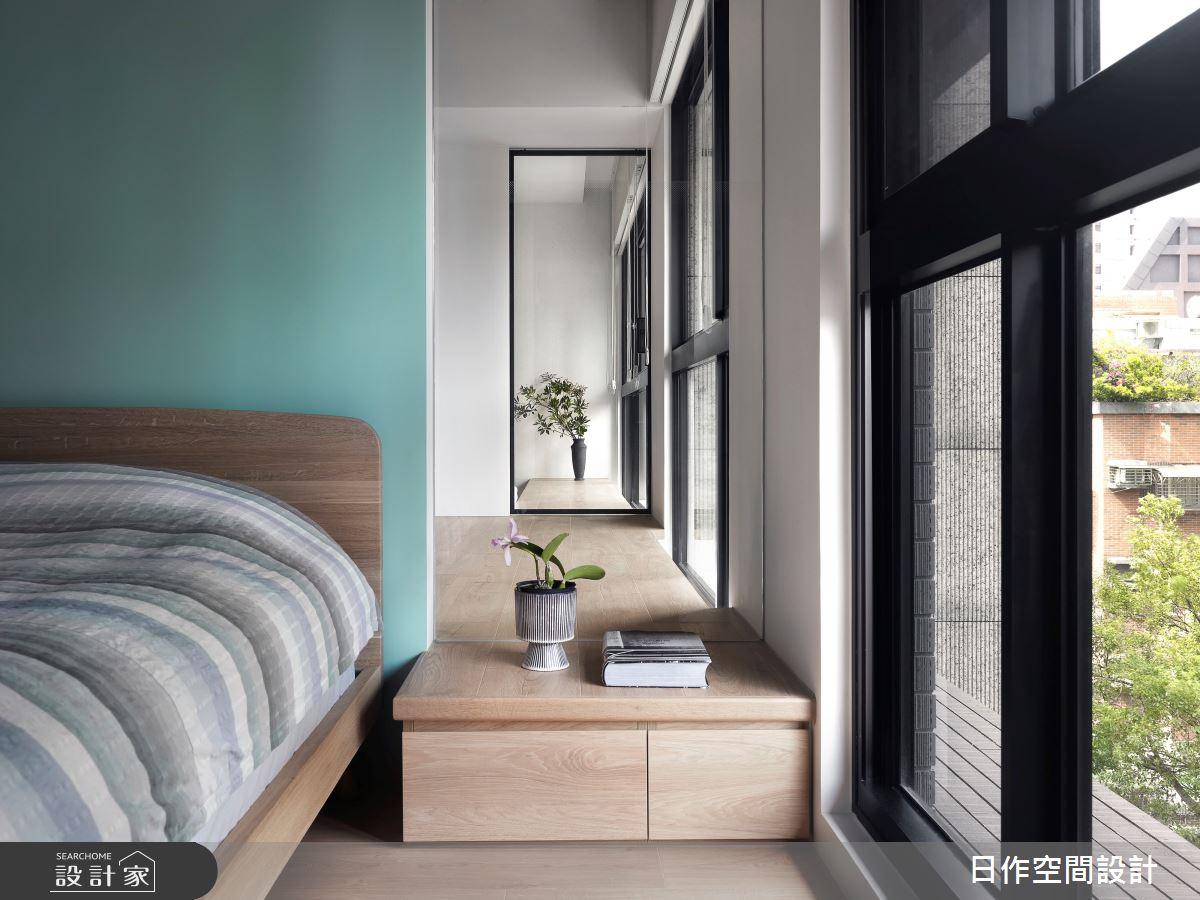 35坪新成屋(5年以下)_日式無印風臥室案例圖片_日作空間設計有限公司_日作_39之24