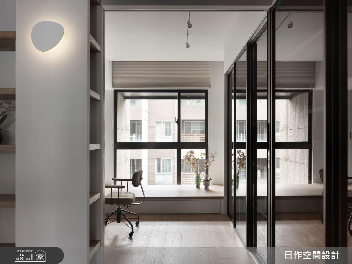 35坪新成屋(5年以下)_日式無印風書房案例圖片_日作空間設計有限公司_日作_39之16
