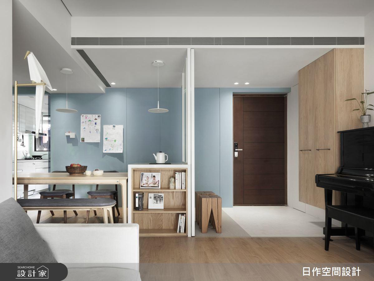 35坪新成屋(5年以下)_日式無印風餐廳案例圖片_日作空間設計有限公司_日作_39之13