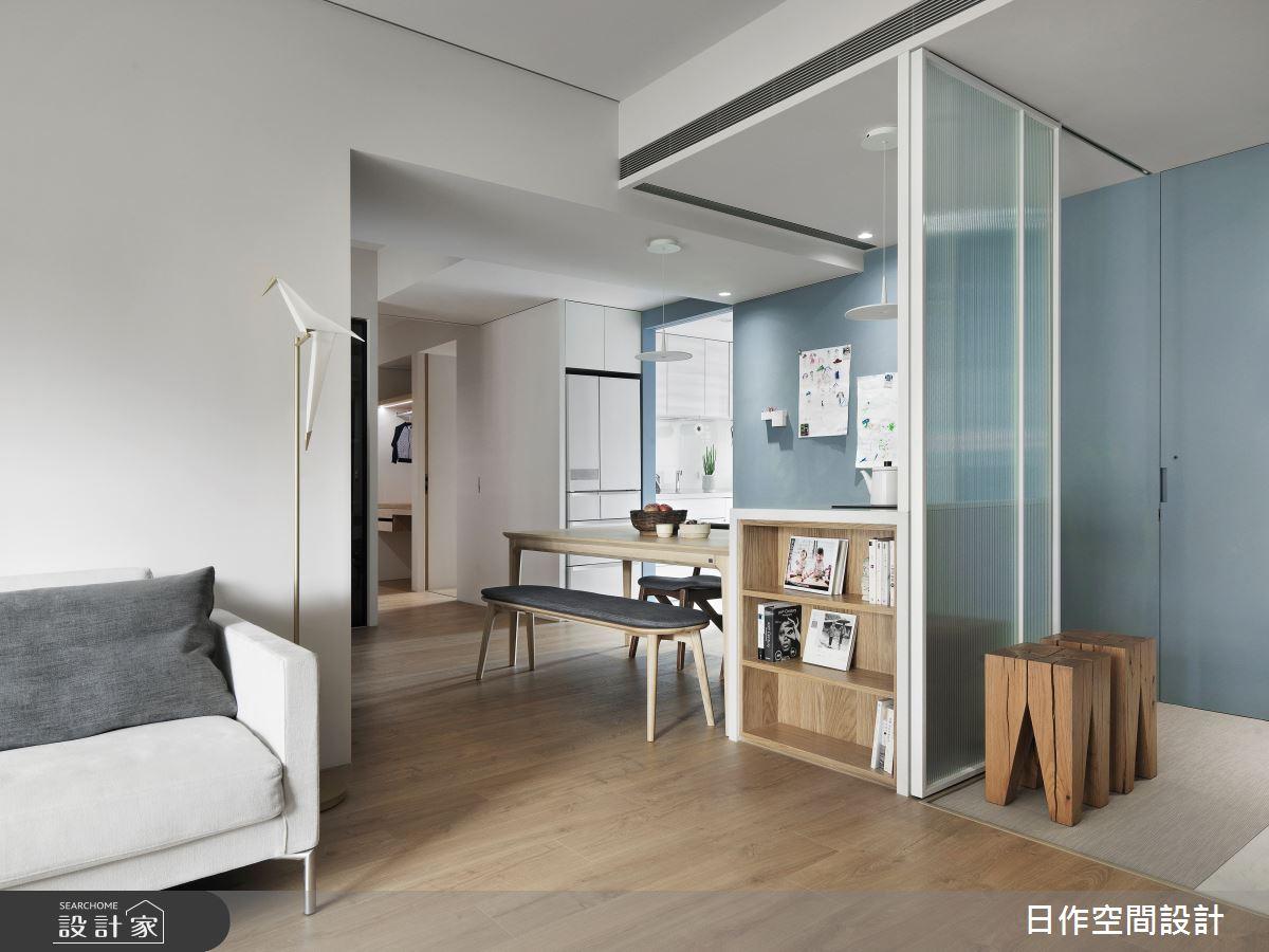 35坪新成屋(5年以下)_日式無印風餐廳案例圖片_日作空間設計有限公司_日作_39之14