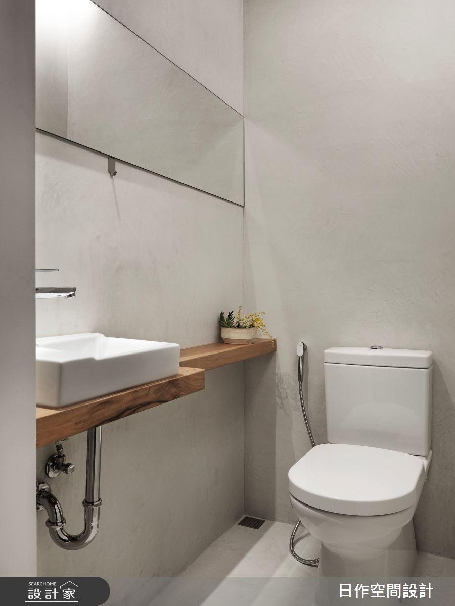 35坪新成屋(5年以下)_日式無印風浴室案例圖片_日作空間設計有限公司_日作_39之31