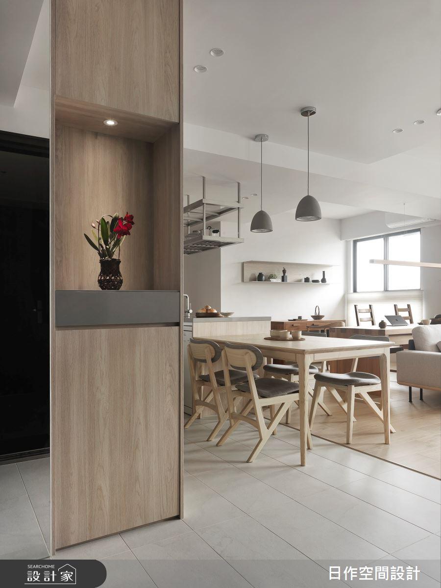 35坪新成屋(5年以下)_簡約風餐廳案例圖片_日作空間設計有限公司_日作_40之1
