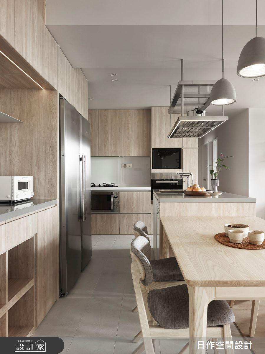 35坪新成屋(5年以下)_簡約風餐廳案例圖片_日作空間設計有限公司_日作_40之4