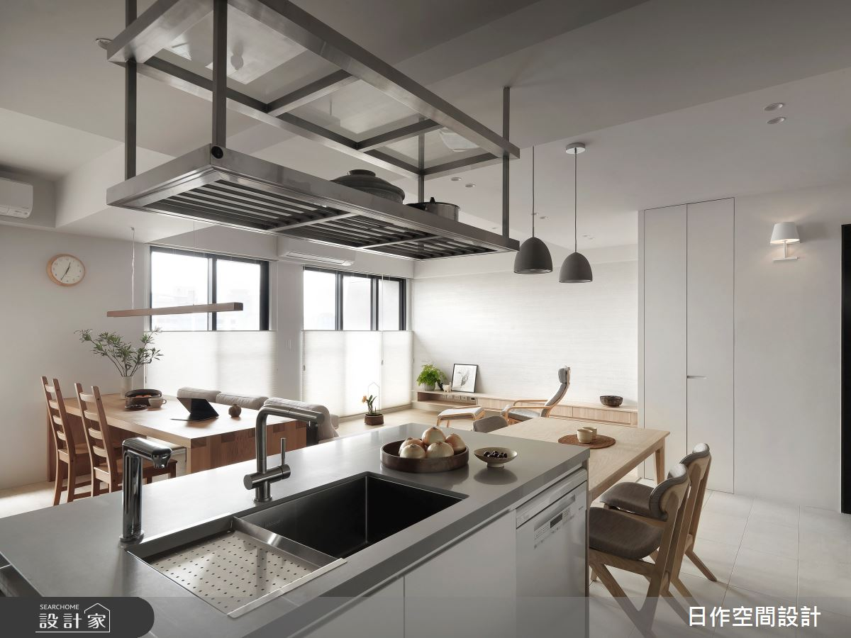 35坪新成屋(5年以下)_簡約風餐廳案例圖片_日作空間設計有限公司_日作_40之15