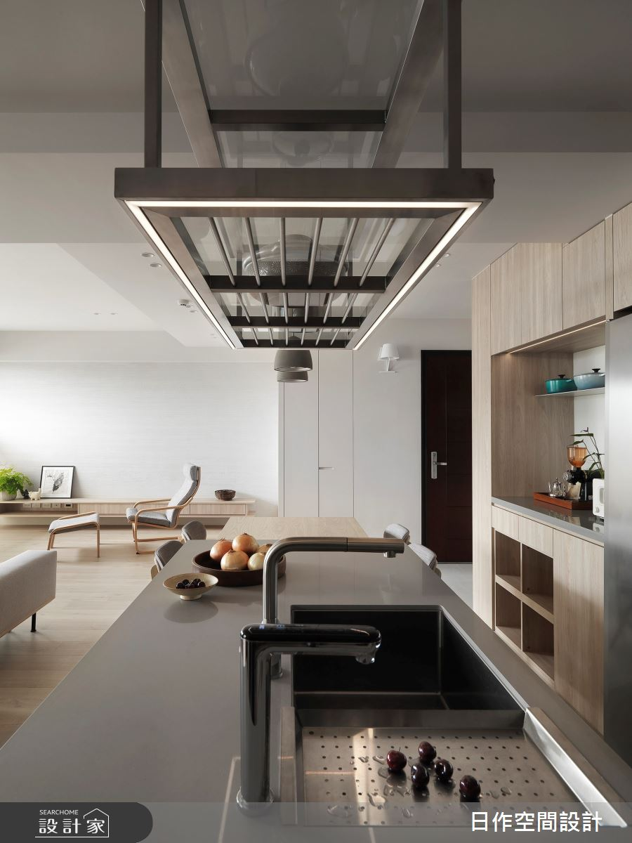 35坪新成屋(5年以下)_簡約風餐廳案例圖片_日作空間設計有限公司_日作_40之14