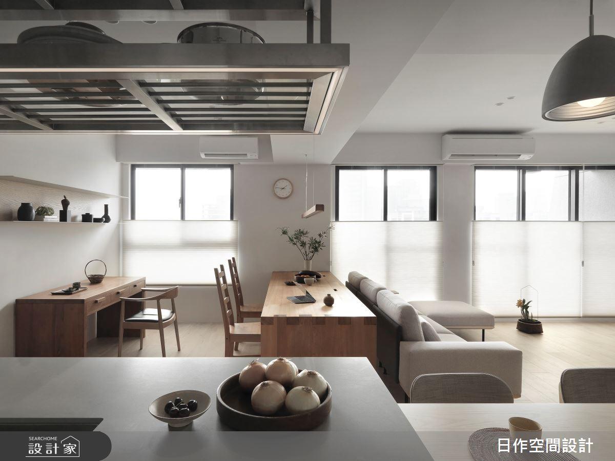 35坪新成屋(5年以下)_簡約風多功能室案例圖片_日作空間設計有限公司_日作_40之16
