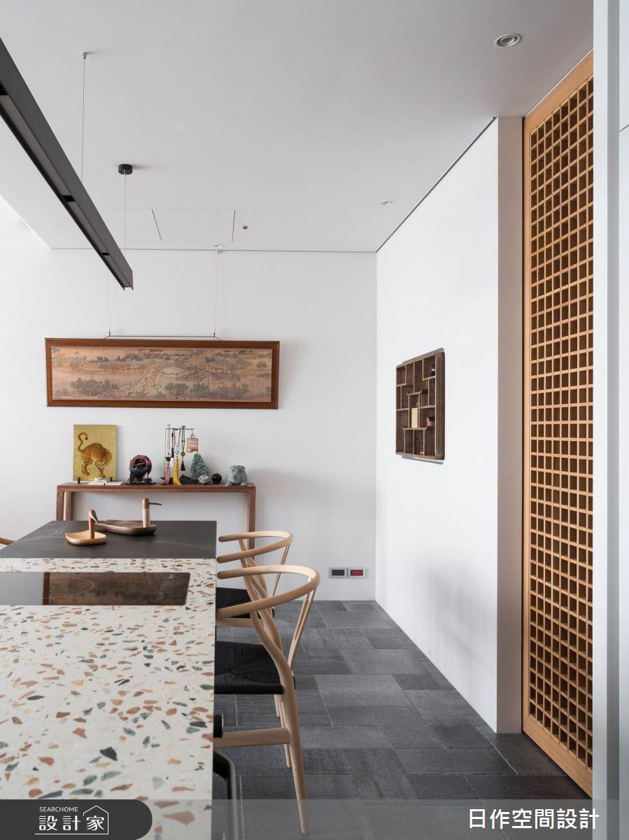 35坪新成屋(5年以下)_新中式風餐廳案例圖片_日作空間設計有限公司_日作_30之3
