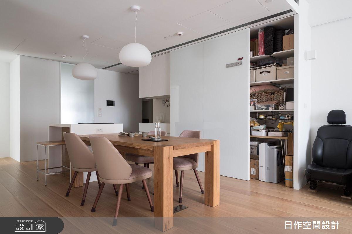 24坪新成屋(5年以下)_日式無印風餐廳案例圖片_日作空間設計有限公司_日作_32之4