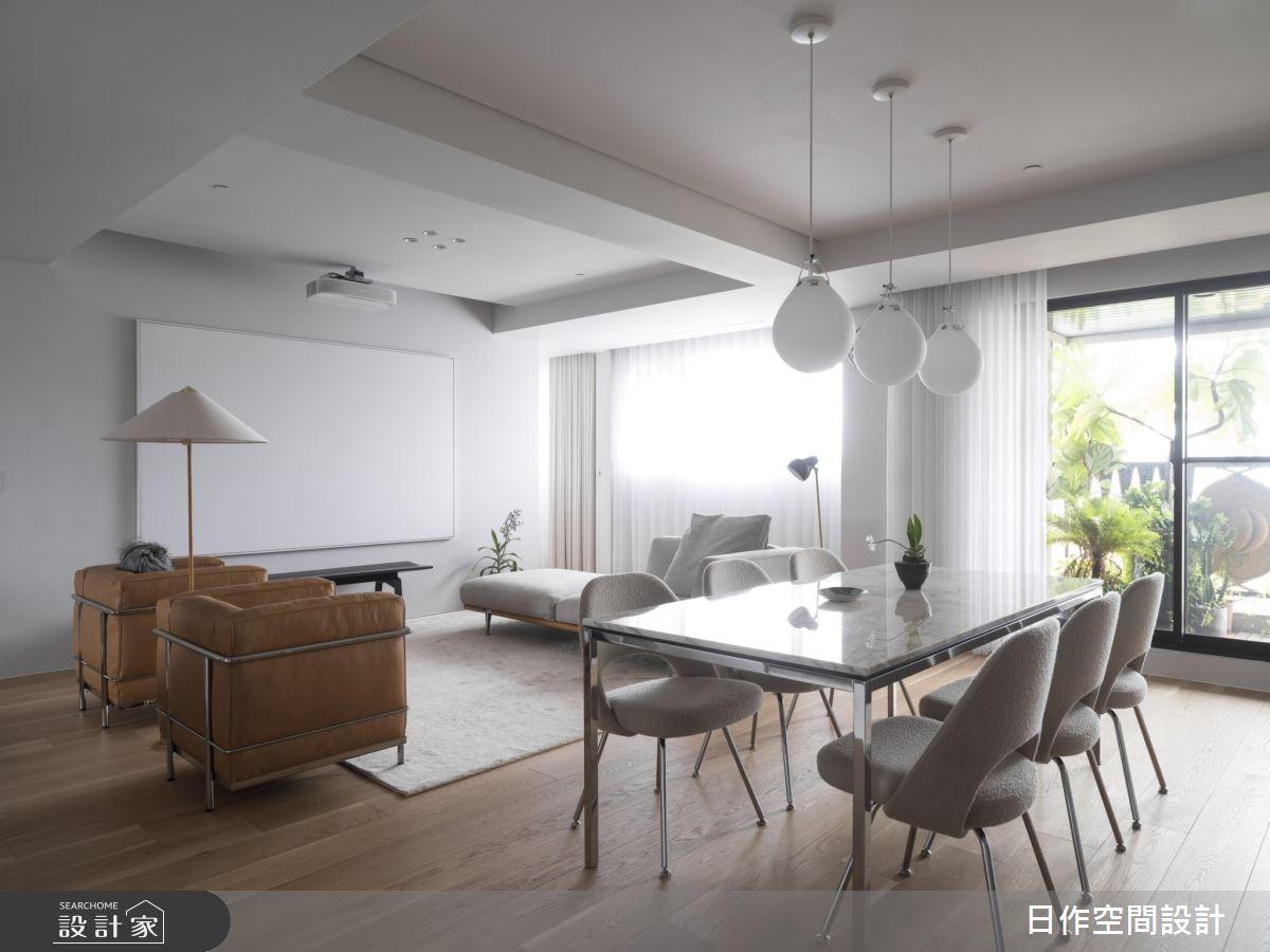 30坪新成屋(5年以下)_簡約風餐廳案例圖片_日作空間設計有限公司_日作_33之4