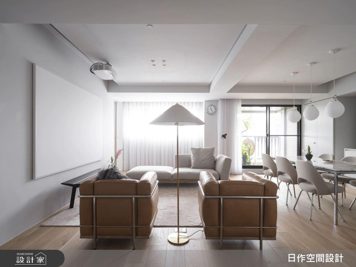 30坪新成屋(5年以下)_簡約風客廳案例圖片_日作空間設計有限公司_日作_33之5