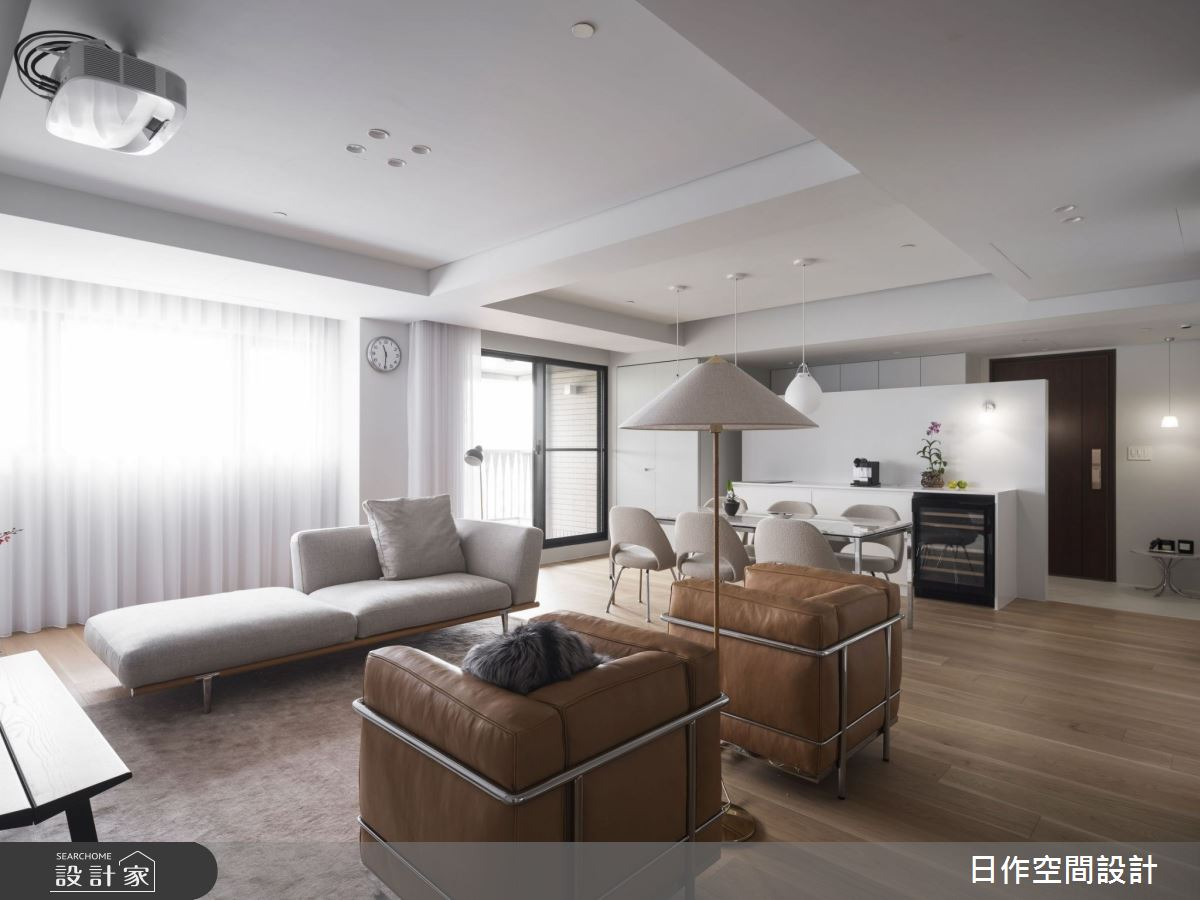 30坪新成屋(5年以下)_簡約風客廳案例圖片_日作空間設計有限公司_日作_33之8