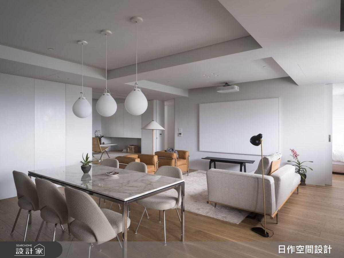 30坪新成屋(5年以下)_簡約風餐廳案例圖片_日作空間設計有限公司_日作_33之13
