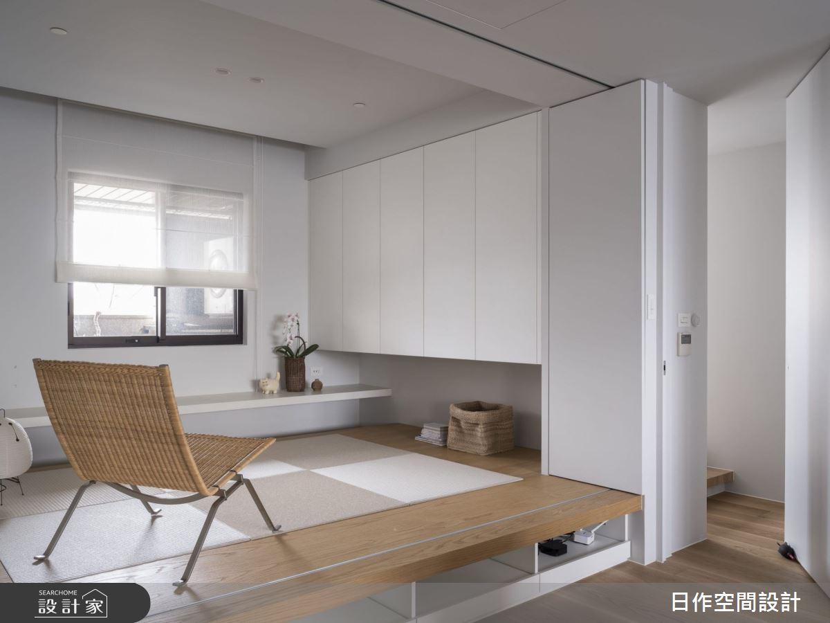 30坪新成屋(5年以下)_簡約風和室案例圖片_日作空間設計有限公司_日作_33之14