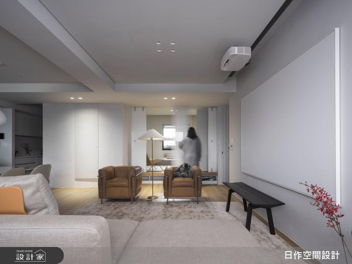 30坪新成屋(5年以下)_簡約風客廳案例圖片_日作空間設計有限公司_日作_33之16