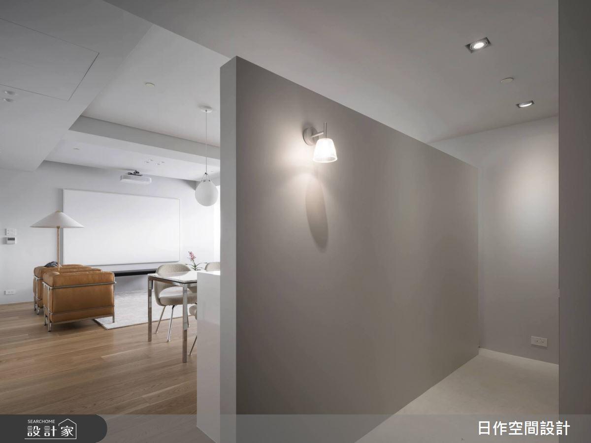 30坪新成屋(5年以下)_簡約風玄關案例圖片_日作空間設計有限公司_日作_33之2
