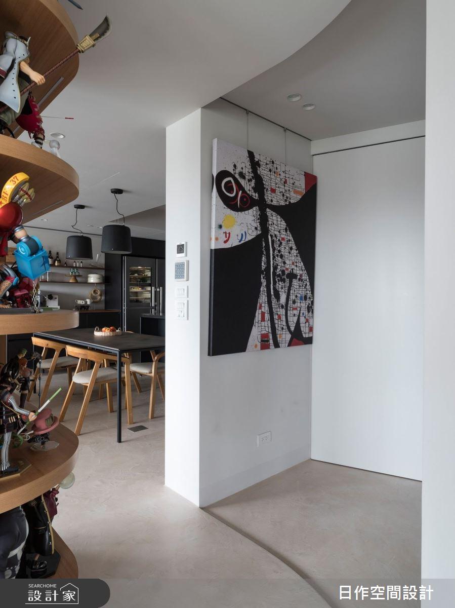42坪新成屋(5年以下)_簡約風案例圖片_日作空間設計有限公司_日作_37之3