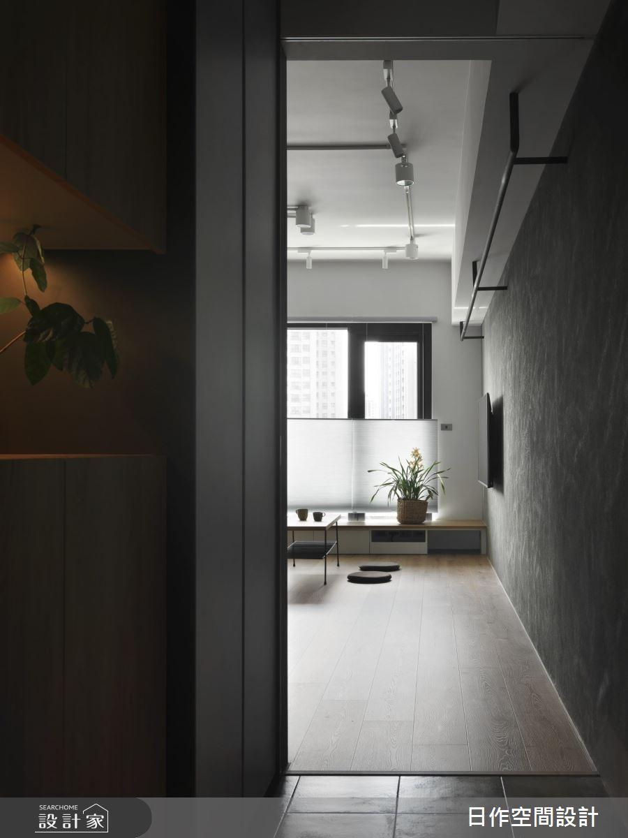 30坪新成屋(5年以下)_日系雜貨風玄關案例圖片_日作空間設計有限公司_日作_41之1