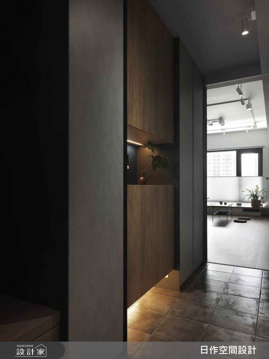 30坪新成屋(5年以下)_日系雜貨風玄關案例圖片_日作空間設計有限公司_日作_41之2