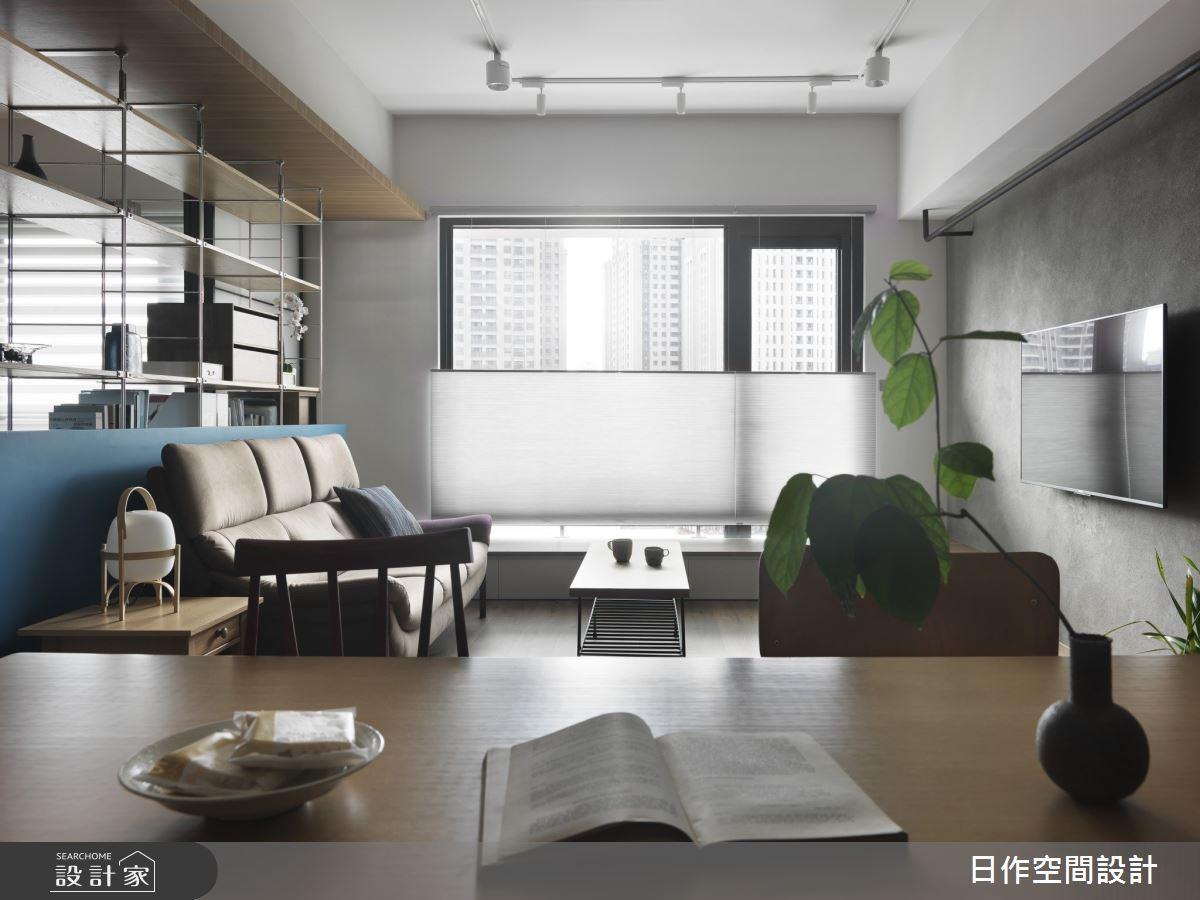 30坪新成屋(5年以下)_日系雜貨風客廳案例圖片_日作空間設計有限公司_日作_41之8