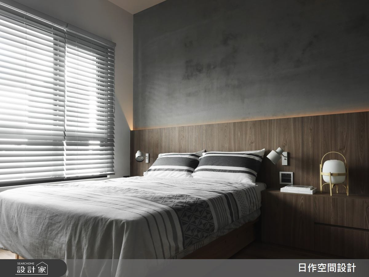 30坪新成屋(5年以下)_日系雜貨風臥室案例圖片_日作空間設計有限公司_日作_41之28