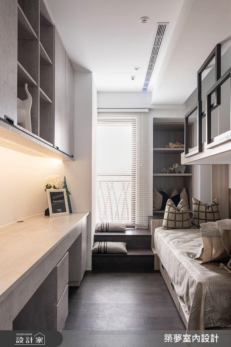 70坪新成屋(5年以下)_新古典臥室案例圖片_築夢室內設計_築夢_15之15