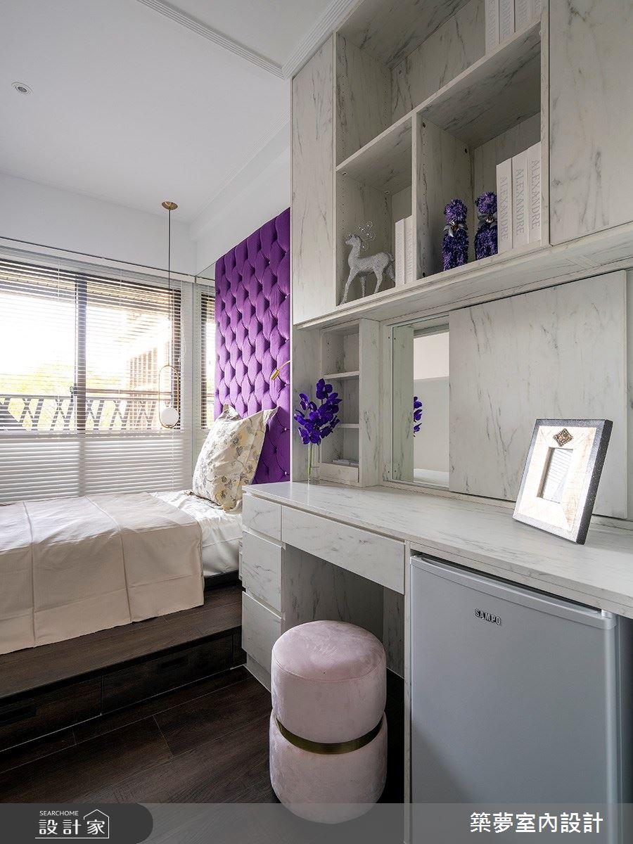 70坪新成屋(5年以下)_新古典臥室案例圖片_築夢室內設計_築夢_15之16
