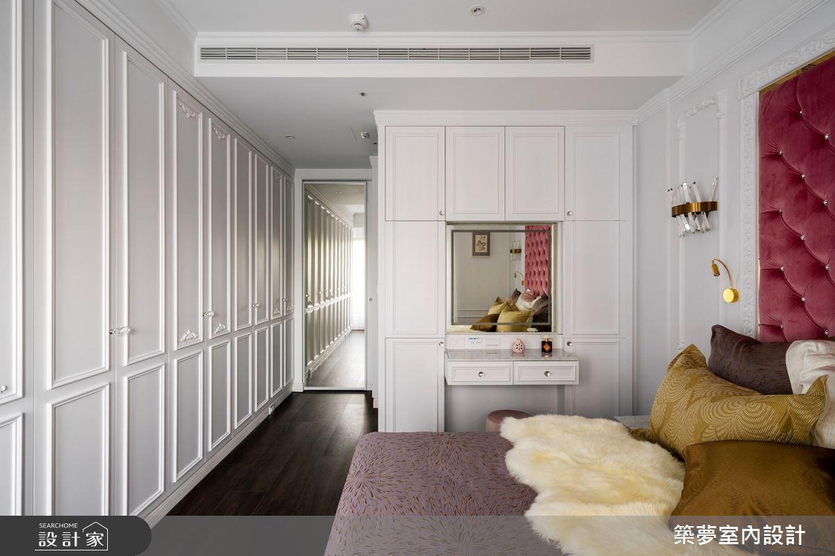 70坪新成屋(5年以下)_新古典臥室案例圖片_築夢室內設計_築夢_15之14