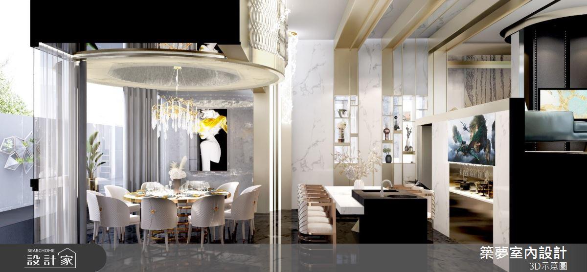 200坪中古屋(5~15年)_奢華風餐廳案例圖片_築夢室內設計_築夢_17之3