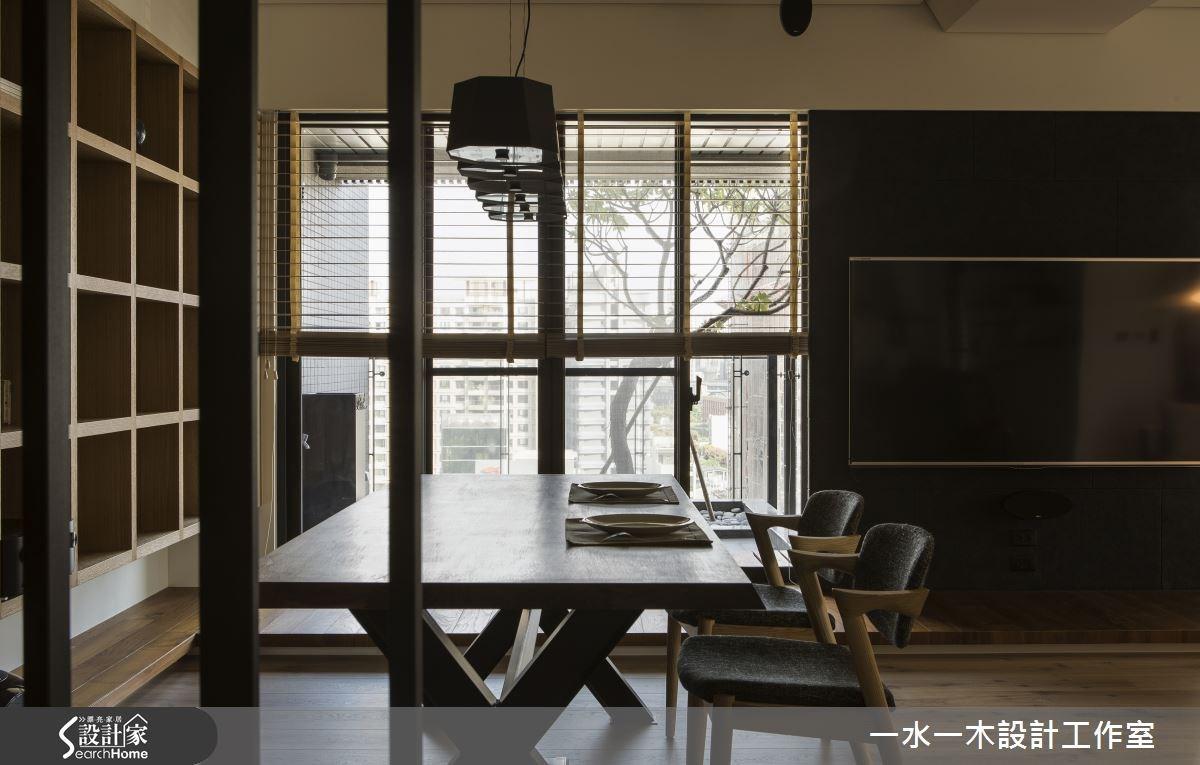 31坪新成屋(5年以下)_休閒風餐廳書房案例圖片_一水一木設計工作室_一水一木_03之2