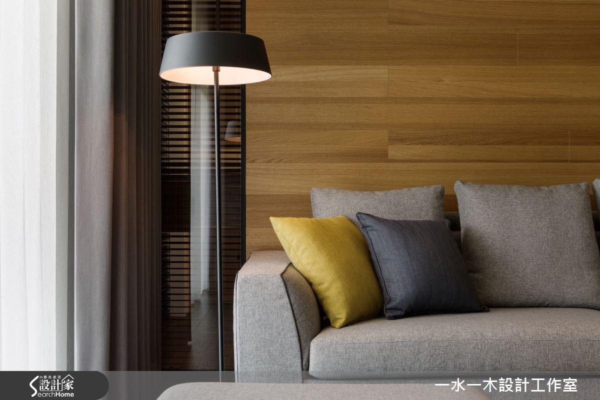 44坪新成屋(5年以下)_簡約風客廳案例圖片_一水一木設計工作室_一水一木_04之5