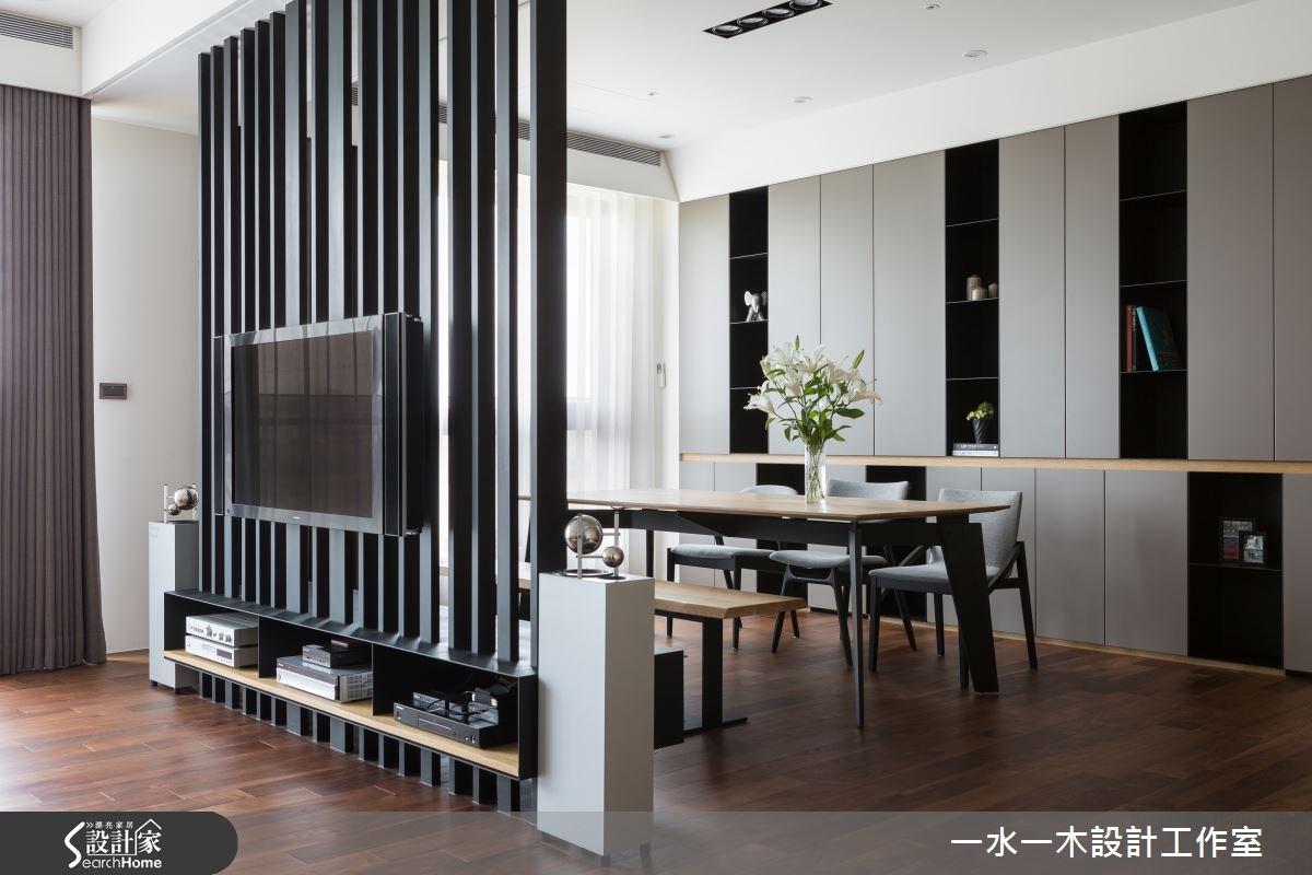 50坪新成屋(5年以下)_簡約風餐廳案例圖片_一水一木設計工作室_一水一木_05之1