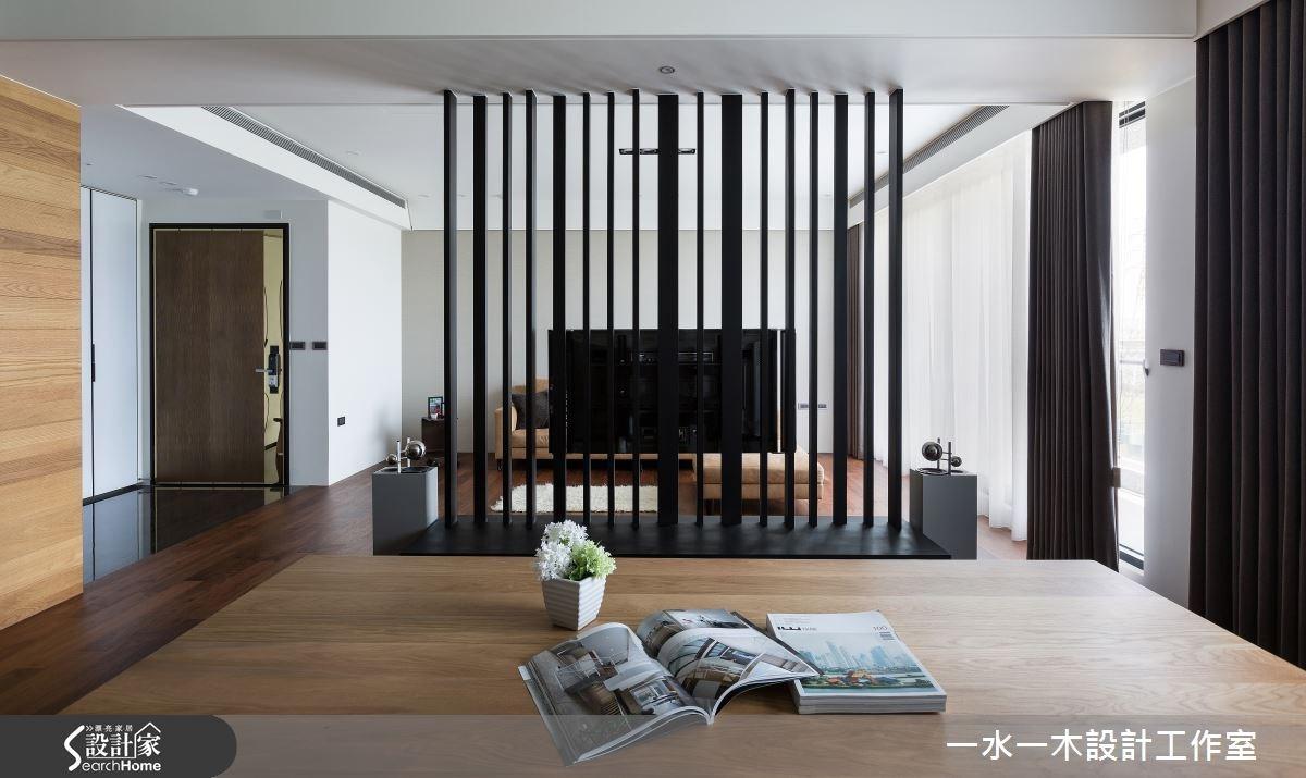 50坪新成屋(5年以下)_簡約風玄關案例圖片_一水一木設計工作室_一水一木_05之9