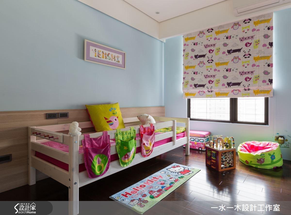 50坪新成屋(5年以下)_簡約風兒童房兒童房案例圖片_一水一木設計工作室_一水一木_05之10
