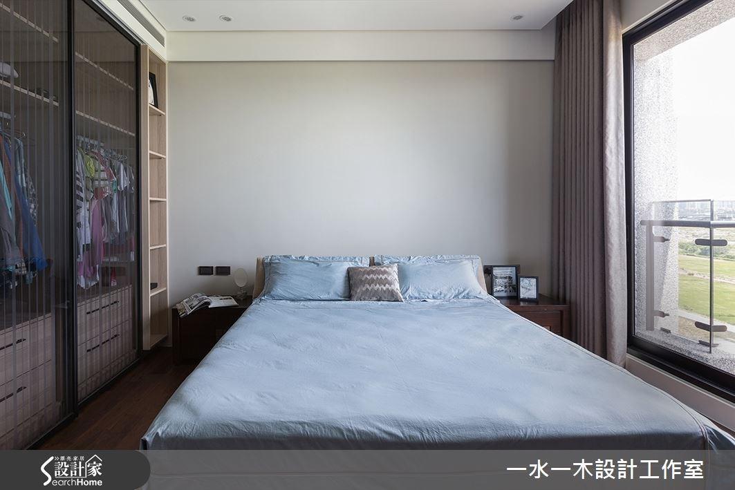 50坪新成屋(5年以下)_簡約風臥室案例圖片_一水一木設計工作室_一水一木_05之11