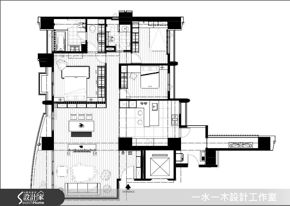 50坪新成屋(5年以下)_簡約風案例圖片_一水一木設計工作室_一水一木_05之12