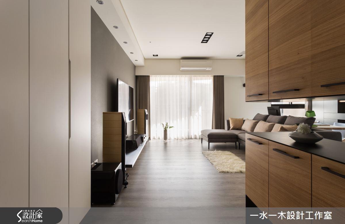 新成屋(5年以下)_簡約風客廳走廊案例圖片_一水一木設計工作室_一水一木_06之1