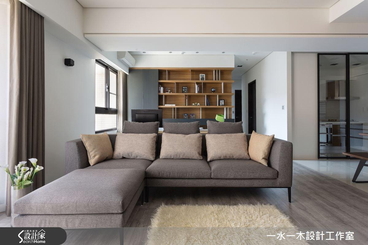 新成屋(5年以下)_簡約風客廳案例圖片_一水一木設計工作室_一水一木_06之2