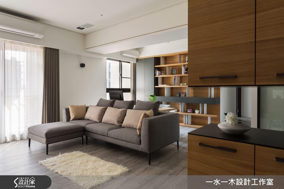 新成屋(5年以下)_簡約風客廳案例圖片_一水一木設計工作室_一水一木_06之3