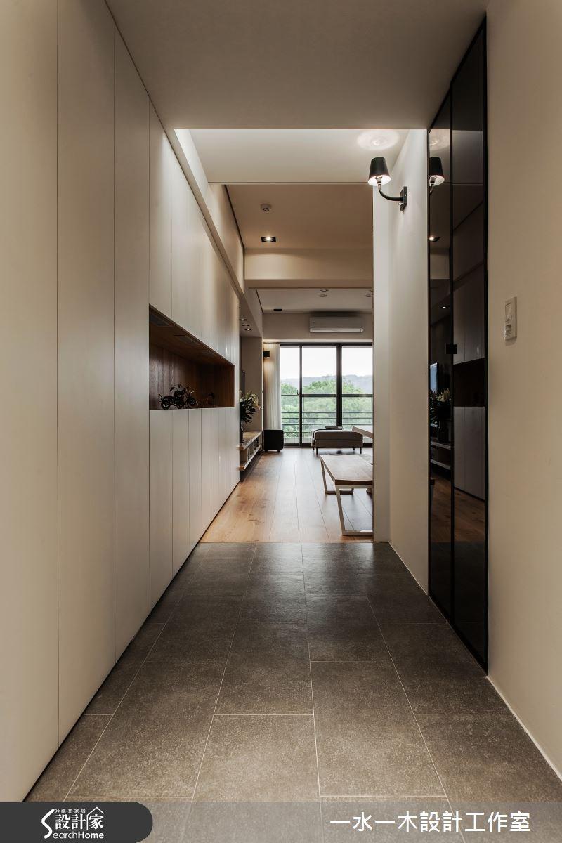 新成屋(5年以下)_簡約風走廊案例圖片_一水一木設計工作室_一水一木_07之1
